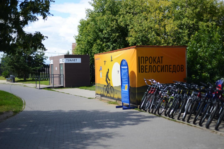 Пункт проката велосипедов — ParkSeason