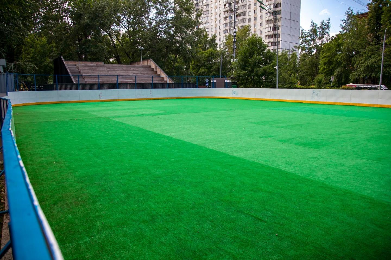Спортивная площадка, Гончаровский парк, Москва — ParkSeason