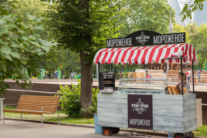 Мороженое Tim`n`Tim, Парк «Красная Пресня», Москва — ParkSeason