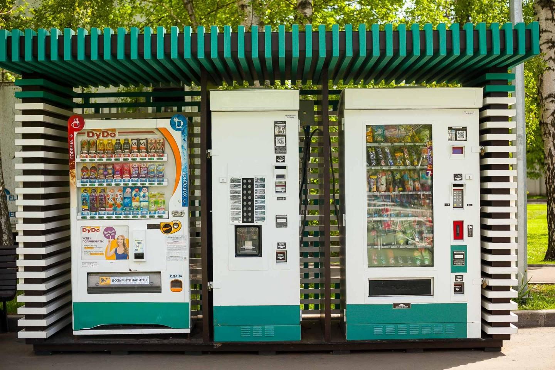 Автомат с едой и напитками (ЗАКРЫТ) — ParkSeason