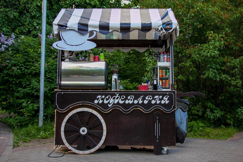 Кофеварня, Парк «Северное Тушино», Москва — ParkSeason