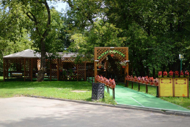 Кафе «Зелена поляна», Усадьба «Коломенское», Москва — ParkSeason