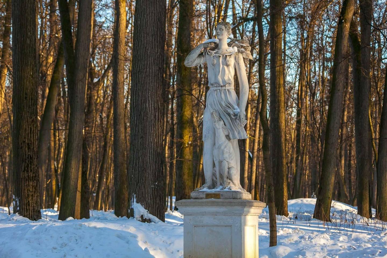 Скульптура Дианы, Музей-заповедник «Царицыно», Москва — ParkSeason
