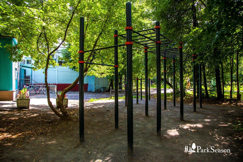 Площадки WorkOut, Парк «Сокольники», Москва — ParkSeason