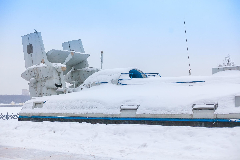 Десантно-штурмовой катер на воздушной подушке «Скат», Парк «Северное Тушино», Москва — ParkSeason