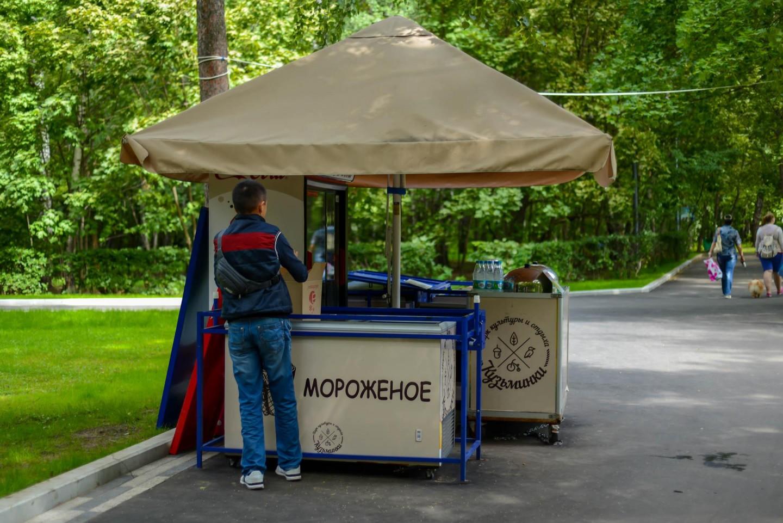 Мороженое, Парк «Кузьминки», Москва — ParkSeason