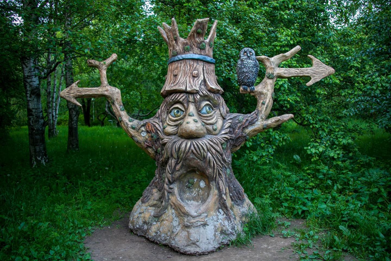 Скульптура Дерева, Парк «Северное Тушино», Москва — ParkSeason