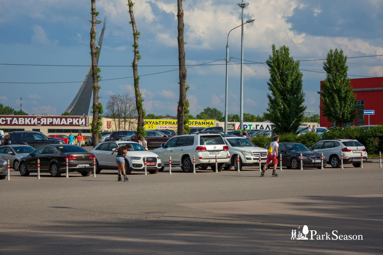 Парковка ВДНХ Южные ворота (не работает) — ParkSeason