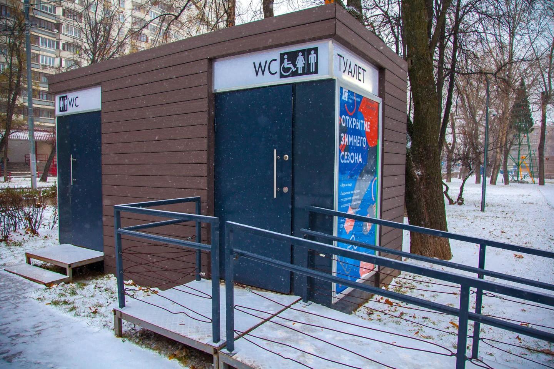 Туалеты, Гончаровский парк, Москва — ParkSeason