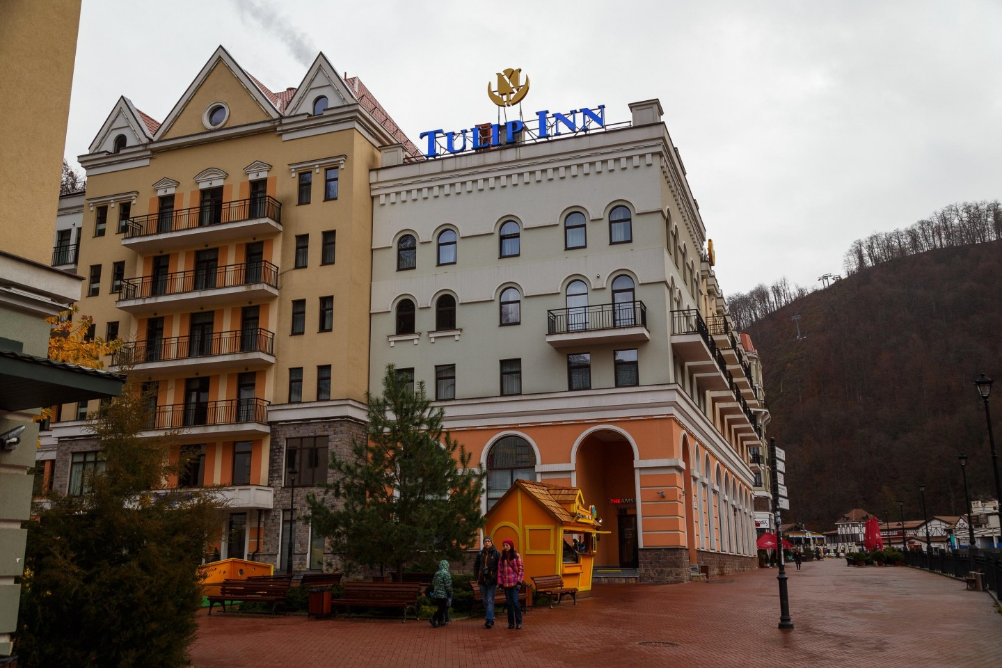 Отель Park Inn by Radisson Rosa Khutor 4* — ParkSeason