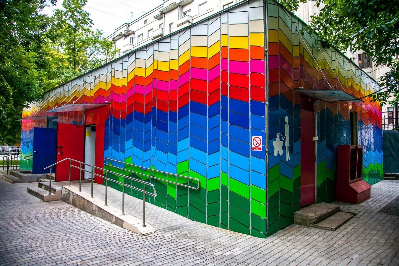 Туалеты, Сад им. Баумана, Москва — ParkSeason