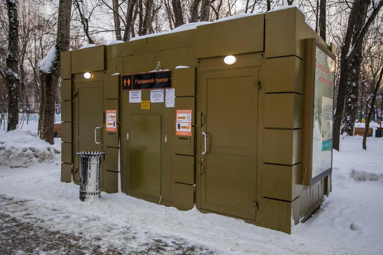 Туалет, Делегатский парк, Москва — ParkSeason