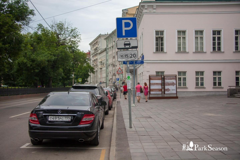 Московский паркинг №1107, Чистые пруды, Москва — ParkSeason