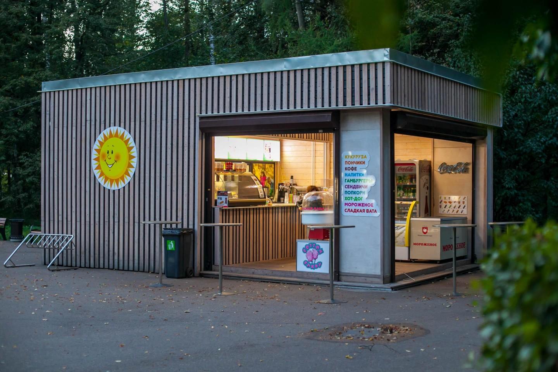 Киоски с уличной едой, Парк «Измайловский», Москва — ParkSeason