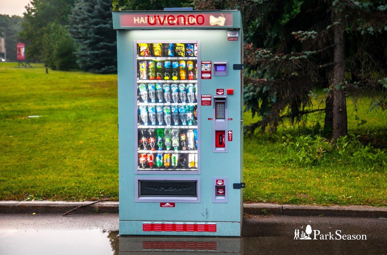 Автомат «Еда и Напитки», Парк Победы на Поклонной горе, Москва — ParkSeason