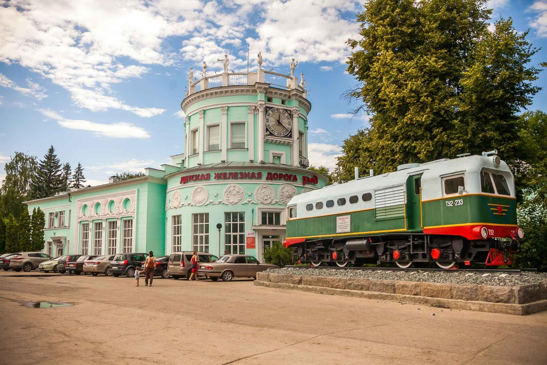 Детская железная дорога — ParkSeason