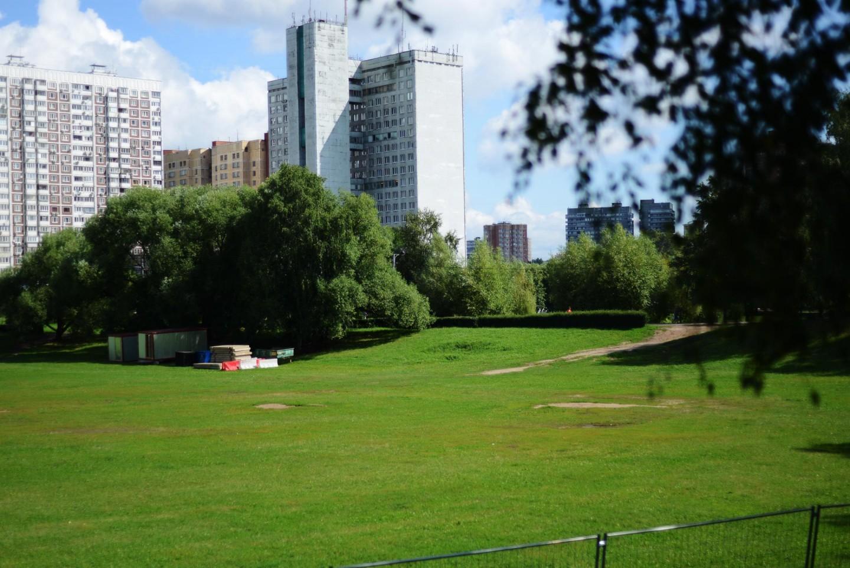 Поле для занятий спортом, Парк Дружбы, Москва — ParkSeason