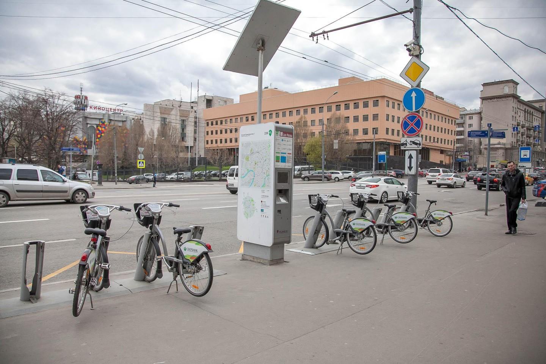 Городской прокат велосипедов, Московский зоопарк, Москва — ParkSeason
