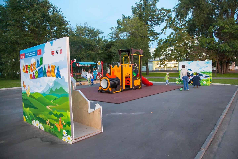 Детская площадка РЖД (закрыт) — ParkSeason