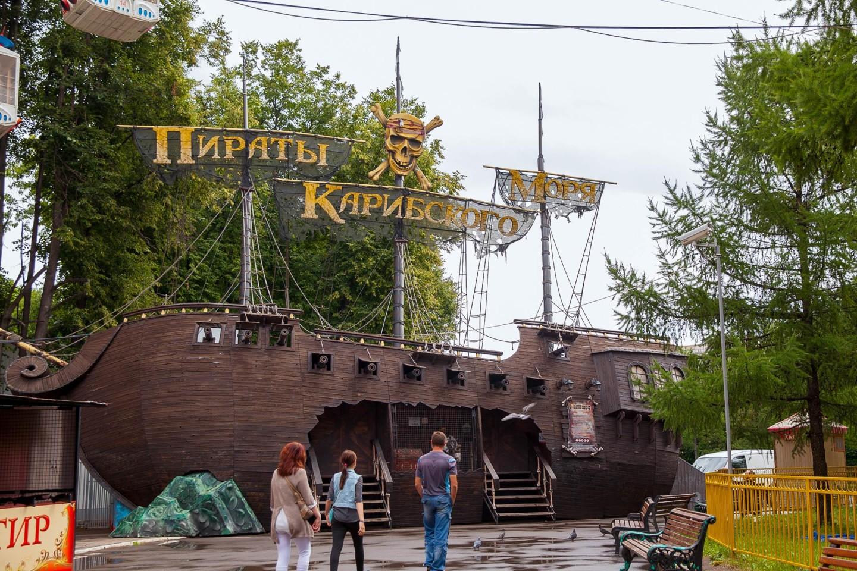 Закрытый парк аттракционов, ВДНХ, Москва — ParkSeason