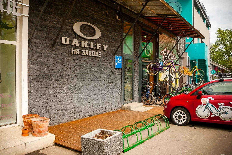 Магазин «Oakley на заводе» — ParkSeason