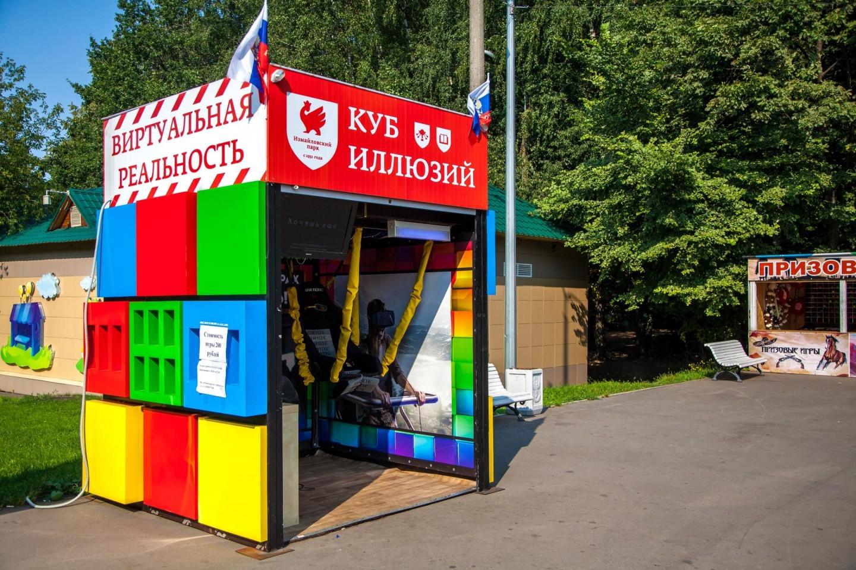 Виртуальная реальность «Клуб иллюзий», Парк «Измайловский», Москва — ParkSeason