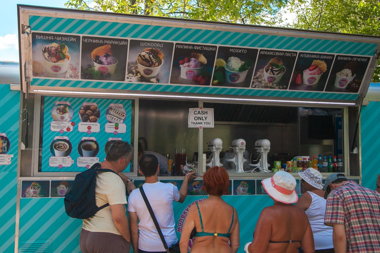 Молекулярное мороженое Dolce Lab, Парк «Сокольники», Москва — ParkSeason
