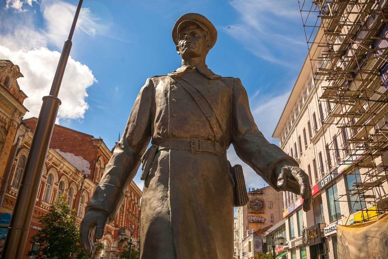 Скульптура «Дядя Степа» — ParkSeason