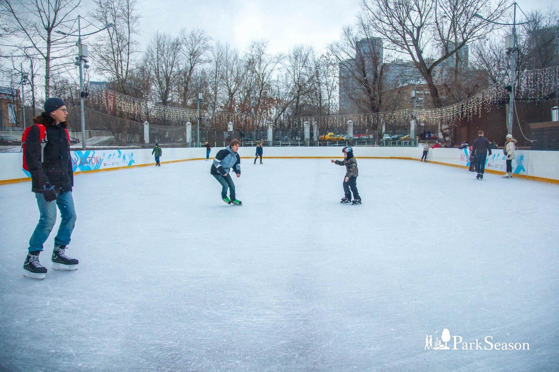 Каток в парке «Красная Пресня», Парк «Красная Пресня», Москва — ParkSeason