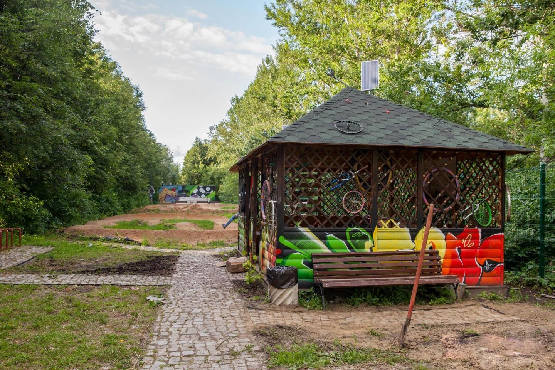 Велоремонт, Парк «Северное Тушино», Москва — ParkSeason