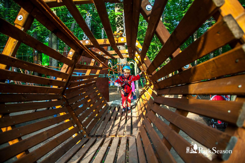 Веревочный парк «ПандаПарк», Парк «Сокольники», Москва — ParkSeason