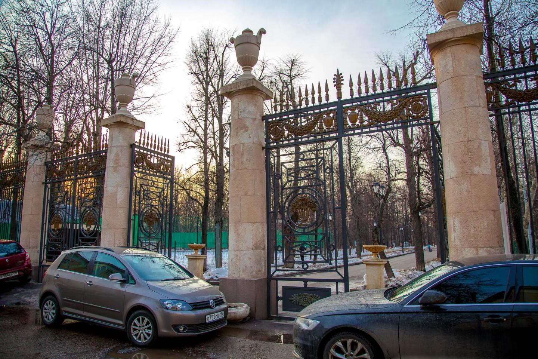 Главный вход, Нескучный сад, Москва — ParkSeason