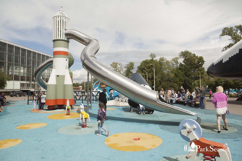 Интерактивная детская площадка «Космос», ВДНХ, Москва — ParkSeason