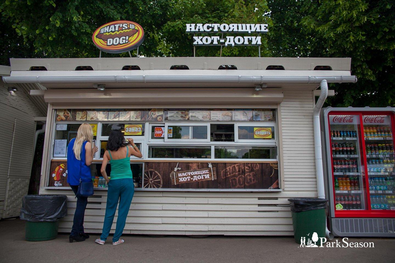 Киоск What's up, dog!, Парк Горького, Москва — ParkSeason
