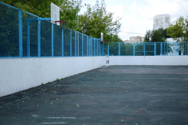 Спортивная площадка, Парк Дружбы, Москва — ParkSeason