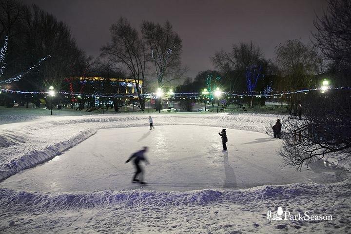 Каток в Екатерининском парке (его нет) — ParkSeason