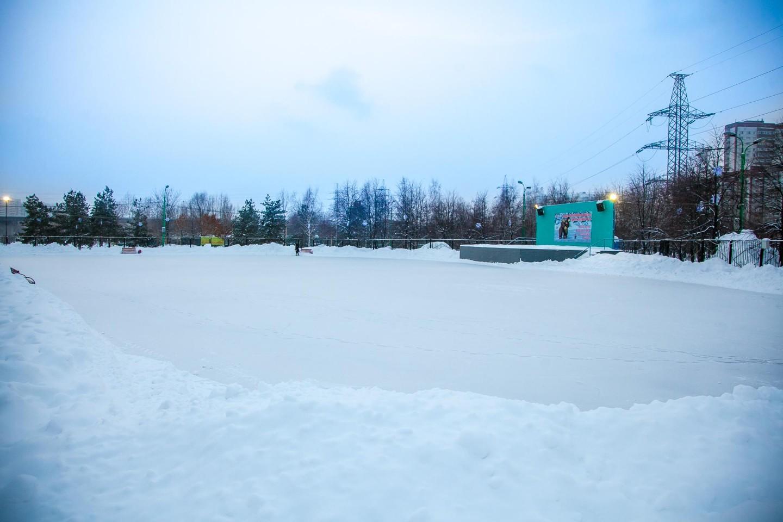 Каток в парке 850-летия Москвы  — ParkSeason
