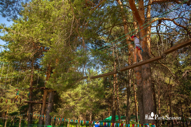 Веревочный парк «Лихолесье» — ParkSeason