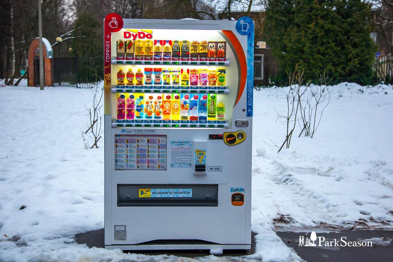 Автомат «Напитки из Японии», Парк «Измайловский», Москва — ParkSeason