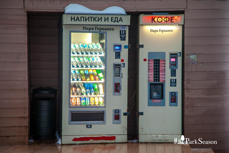 Автомат «Еда и Напитки», Нескучный сад, Москва — ParkSeason
