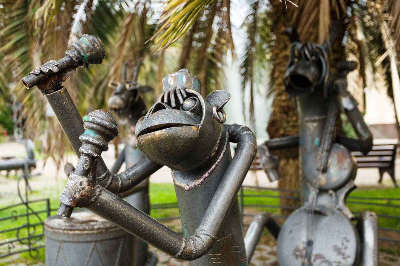 Скульптура «Бременские музыканты» — ParkSeason