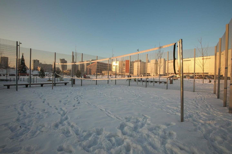 Волейбольная площадка, Ходынское поле, Москва — ParkSeason