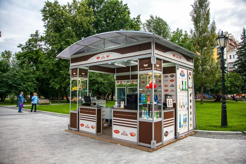 Киоск «Кафе-кондитерская», Сад им. Баумана, Москва — ParkSeason