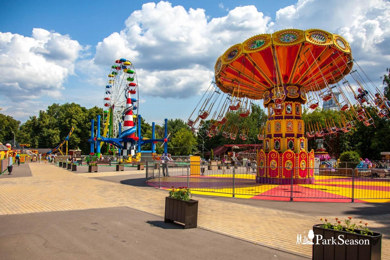 Парк аттракционов, Парк «Сокольники», Москва — ParkSeason