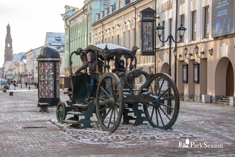 Памятник карете Екатерины II — ParkSeason