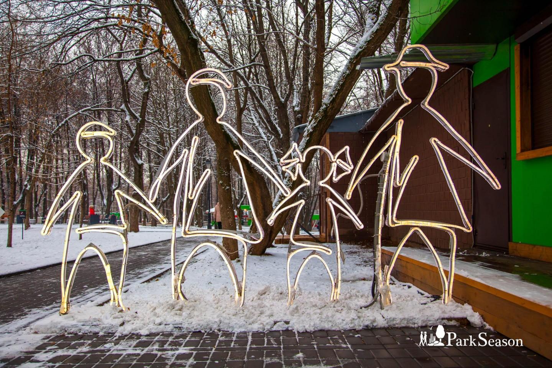 Арт-объект «Дружная семья», Парк «Бабушкинский», Москва — ParkSeason