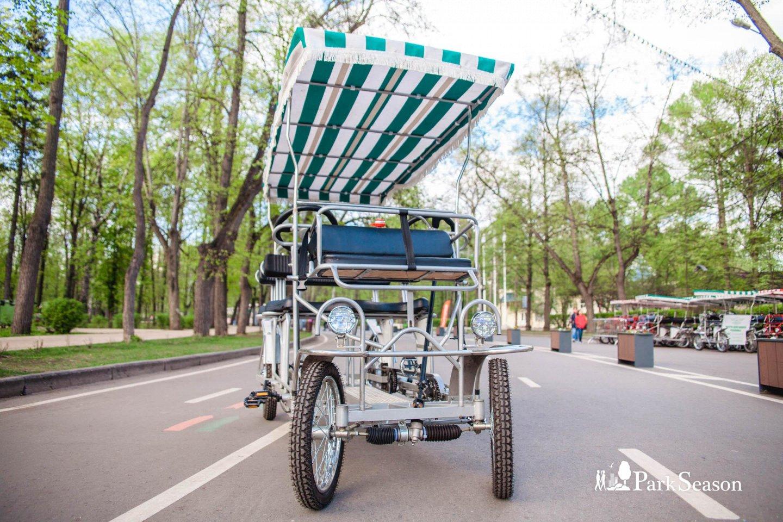 Пункт проката веломобилей, Парк «Сокольники», Москва — ParkSeason