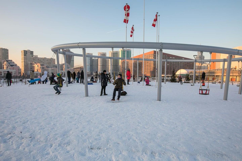 Панорамные качели, Ходынское поле, Москва — ParkSeason