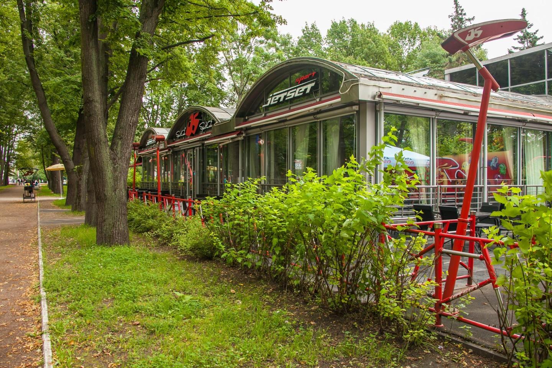 Ресторан Jet Set — ParkSeason