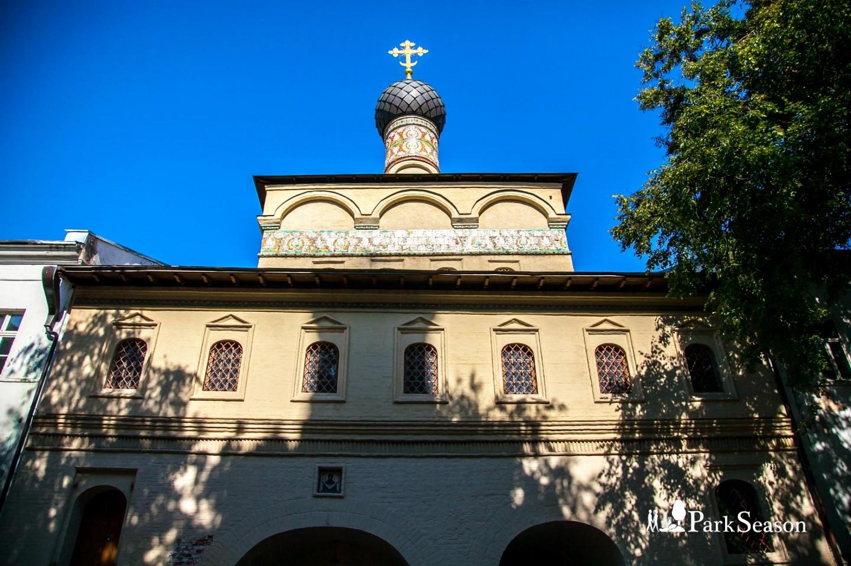 Андреевский мужской монастырь, Воробьевы горы, Москва — ParkSeason